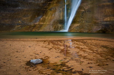 Colored Pool (Lower Calf Creek Falls)